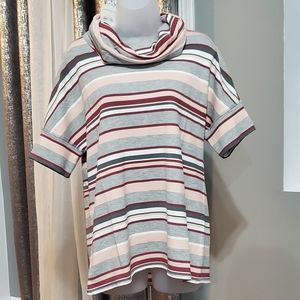 NWT Cable&gauge  short sleeve sweater size M